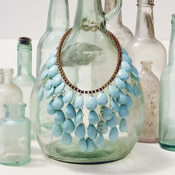 Mint Waterfall Necklace: Featured Product Image