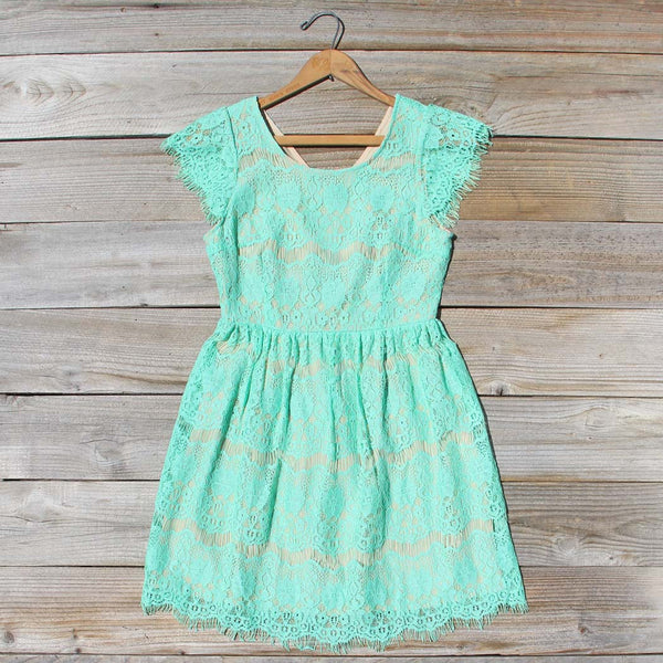 Misty Lace Dress: Featured Product Image
