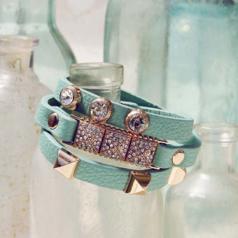 Moon Rise Bracelet in Mint: Featured Product Image