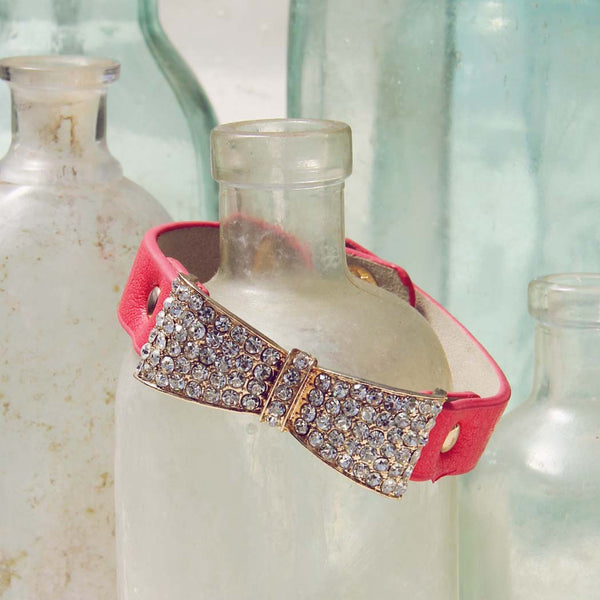 Nightingale Cuff Bracelet in Watermelon: Featured Product Image