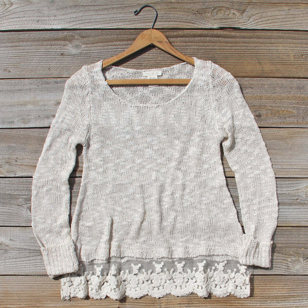 North Forest Knit Thermal in Sand: Featured Product Image