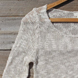North Forest Knit Thermal in Sand: Alternate View #2