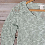 North Forest Knit Thermal in Sage: Alternate View #2