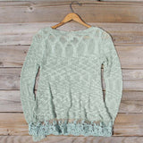North Forest Knit Thermal in Sage: Alternate View #4