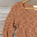 North Forest Knit Thermal in Rust: Alternate View #2
