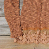 North Forest Knit Thermal in Rust: Alternate View #3