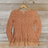 North Forest Knit Thermal in Rust: Alternate View #4