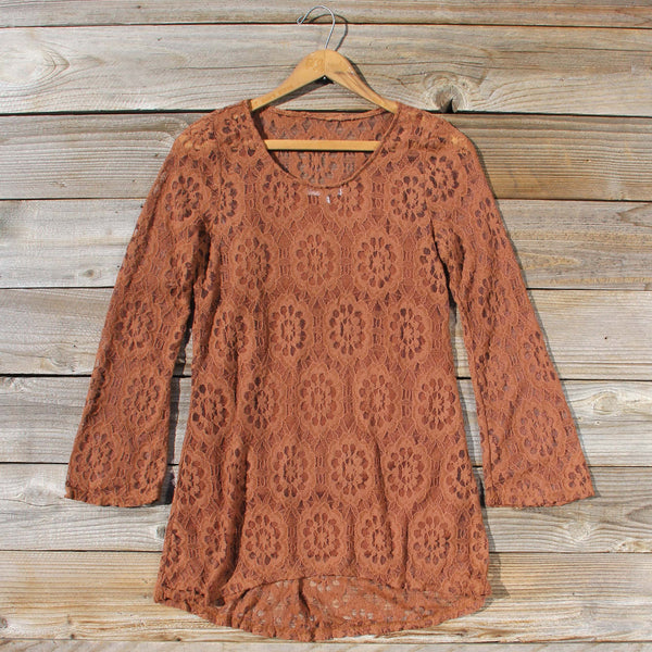 October Lace Tunic: Featured Product Image