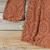 October Lace Tunic: Alternate View #3