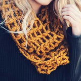 October Dusk Scarf: Alternate View #2