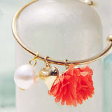 Peach Blossom Bracelet in Peach: Alternate View #2