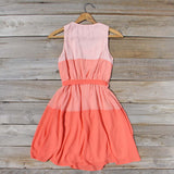 Peach Grove Dress in Peach: Alternate View #4