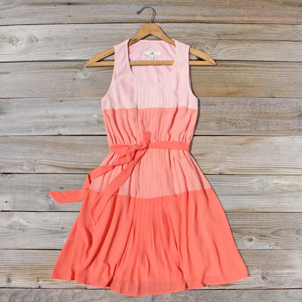 Peach Grove Dress in Peach: Featured Product Image