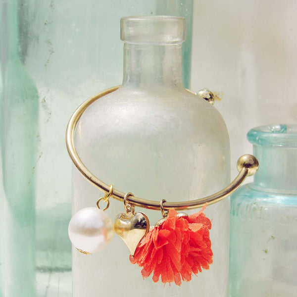 Peach Blossom Bracelet in Peach: Featured Product Image