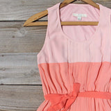 Peach Grove Dress in Peach: Alternate View #2