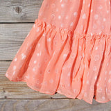 Peaches & Sugar Dress: Alternate View #3