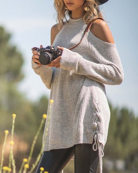 Pretty & Cozy Sweater: Featured Product Image