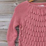Rolling Mist Sweater in Dusty Pink: Alternate View #2