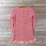 Rolling Mist Sweater in Dusty Pink: Alternate View #4