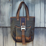 Sage Meadow Book Tote: Alternate View #1