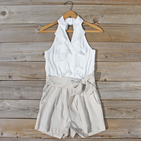 Sand Dollar Romper: Featured Product Image
