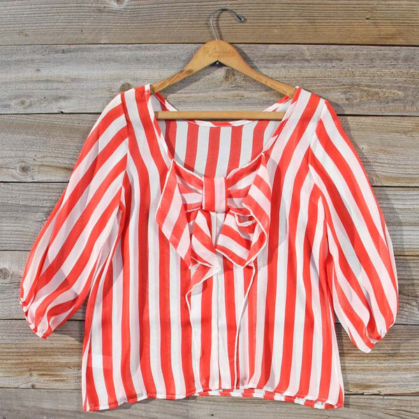 Sand & Sea Blouse in Watermelon: Featured Product Image