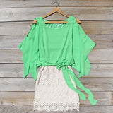 Sea Glass Lace Dress: Alternate View #1