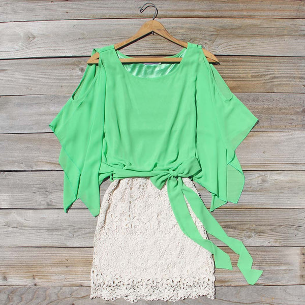 Sea Glass Lace Dress: Featured Product Image