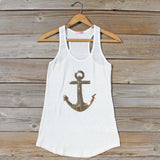 Sequin Sailor Tank: Alternate View #1