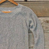 Skyline Lace Sweater in Ash: Alternate View #3