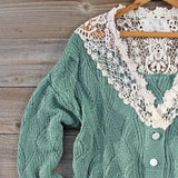 Sleepy December Sweater in Sage: Alternate View #2