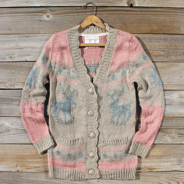 Snowy Canoe Knit Sweater: Featured Product Image