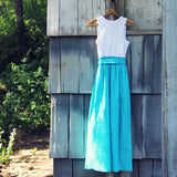 Southern Moss Maxi Dress: Alternate View #3