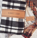 Cozy Buffalo Plaid Scarf: Alternate View #4