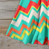 Spring Song Chevron Dress: Alternate View #3