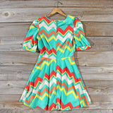 Spring Song Chevron Dress: Alternate View #4