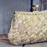 Spun Gold Party Clutch: Alternate View #2
