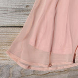 Stone Spell Beaded Dress in Dusty Pink: Alternate View #3