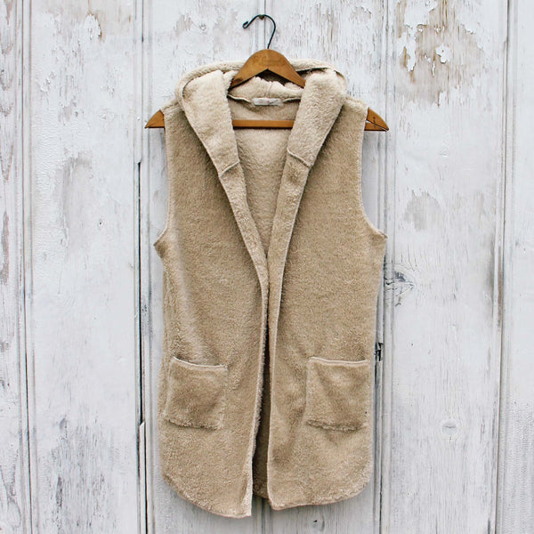Stormy Weather Shaggy Vest: Featured Product Image