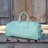 Studded Mint Duffle: Alternate View #3