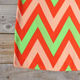 Sugarberry Chevron Dress: Alternate View #3