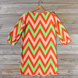 Sugarberry Chevron Dress: Alternate View #4