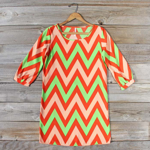 Sugarberry Chevron Dress: Featured Product Image