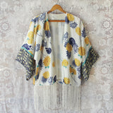 Sugarcane Fringe Duster (wholesale): Alternate View #2