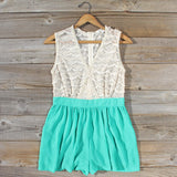 Sugared Clover Romper: Alternate View #1