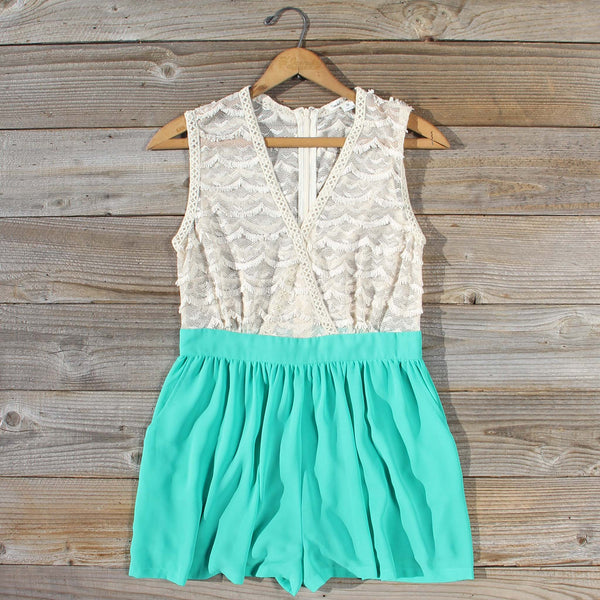 Sugared Clover Romper: Featured Product Image