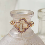 Sweet Clover Ring: Alternate View #1