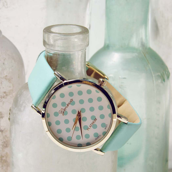 Mint Dots Watch: Featured Product Image