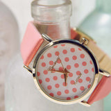 Peach Dots Watch: Alternate View #2