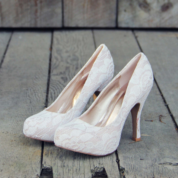 Sweet Lace Heels: Featured Product Image